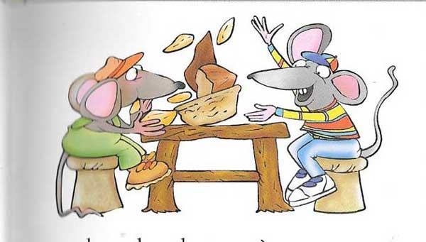 El ratón de campo y el ratón de ciudad